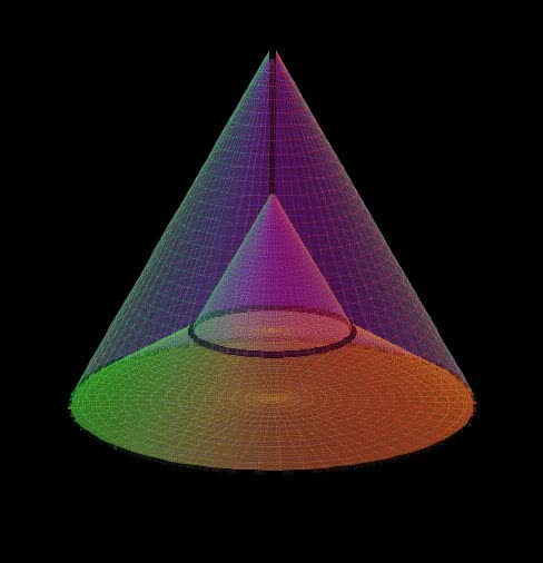 Watch and share Cone Prism GIFs and Hypershape GIFs by philip on Gfycat
