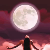 Watch and share Full Moon Girl GIFs on Gfycat