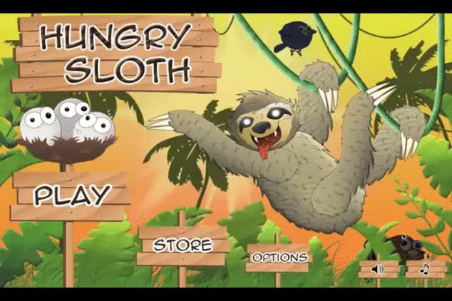 Watch and share Hungrysloth GIFs and Sloth GIFs by toucheapps on Gfycat