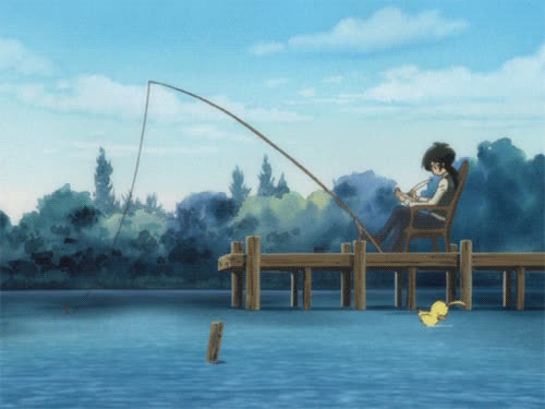 fishing, 🎣 fishing pole GIFs
