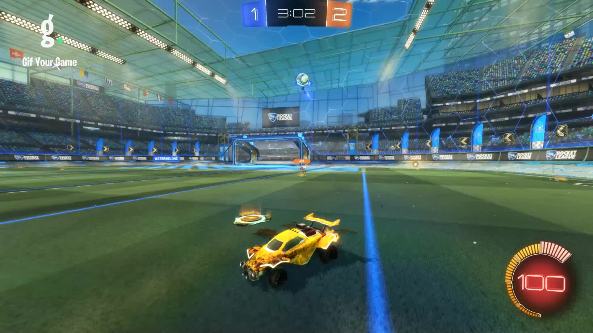 Gif Your Game, GifYourGame, Goal, Prospect, Rocket League, RocketLeague, Goal 4: Prospect GIFs