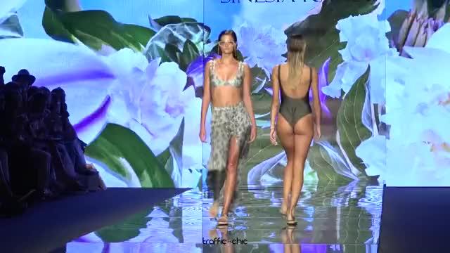 Watch SINESIA KAROL Resort 2019 Paraíso Fashion Fair-ou3b0lQR0Gk-Scene-020 GIF by @online3782 on Gfycat. Discover more related GIFs on Gfycat