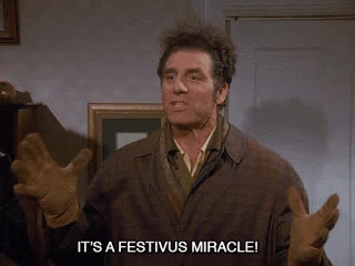 michael richards, its festivus miracle Kra GIFs
