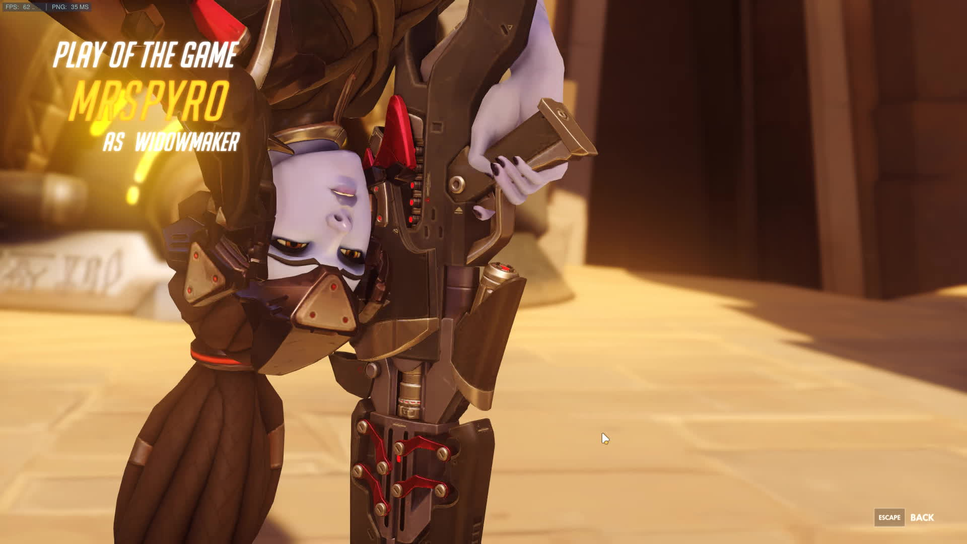 3 sombra and 1 mei VS 1 Widomaker (sorry 4 the FPS Drop )