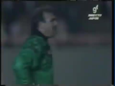 Watch and share BATISTUTA - Argentina V Wales, 1992 GIFs on Gfycat