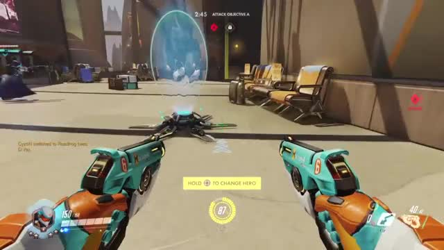 Watch A Lesson In Teleportation GIF by @tojupiter on Gfycat. Discover more Overwatch, ps4share, sony interactive entertainment GIFs on Gfycat