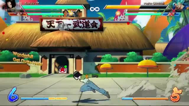 Watch and share Android 17 GIFs and Fighterz GIFs by veloc1raptor on Gfycat