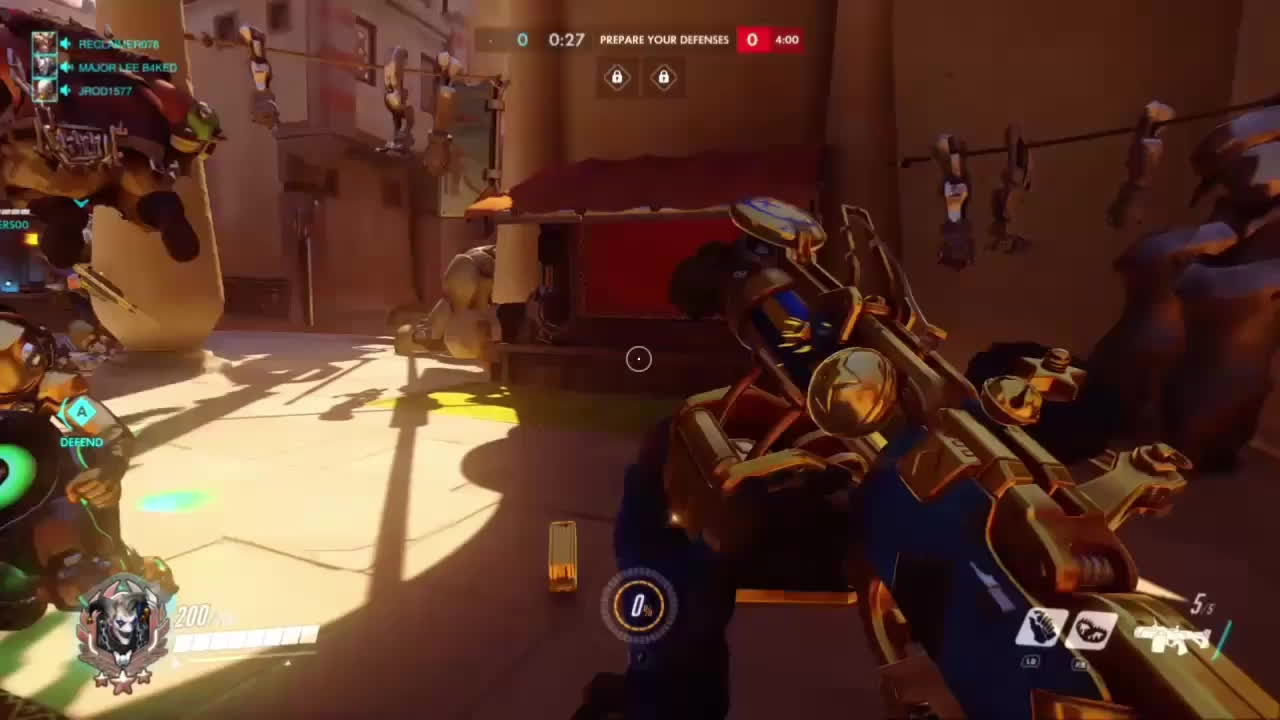 OWConsole, Overwatch, Junkrat golden bombs GIFs