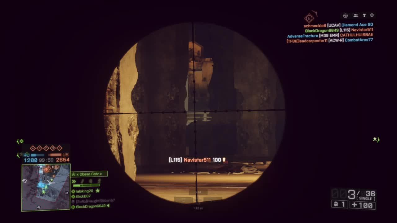 Battlefield4, BlackDragon6649, gamer dvr, xbox, xbox one, Sniped GIFs