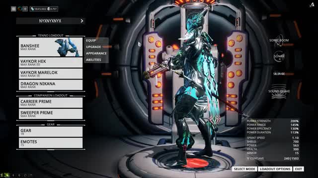 Watch and share Warframe GIFs and Banshee GIFs by flyflo on Gfycat