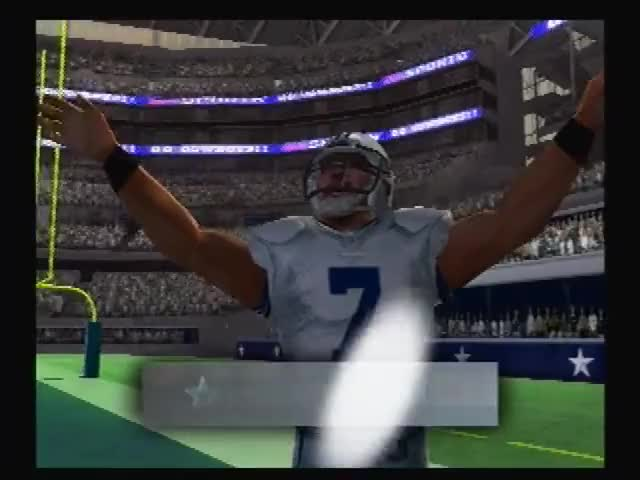 Let's Play Madden 10 ps2 Cowboys vs Seahawks Week 8 GIF
