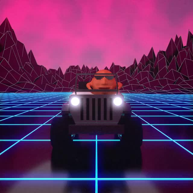 Watch Look what i'm whippin' up GIF by Cherik (@cherik1) on Gfycat. Discover more blender3d, cyclesrender, outrun, vaporwave GIFs on Gfycat