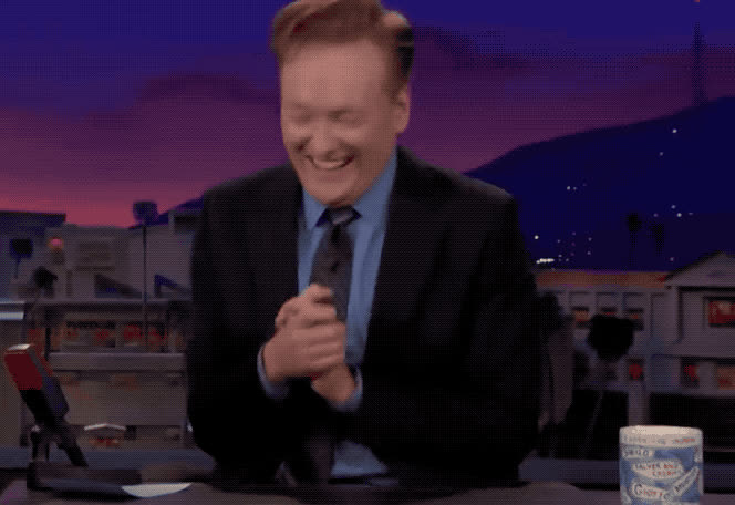 brien, conan, epic, funny, god, ha, haha, hehe, hilarious, joke, joking, laugh, lol, loud, my, o, obrien, oh, omg, out, LOL GIFs