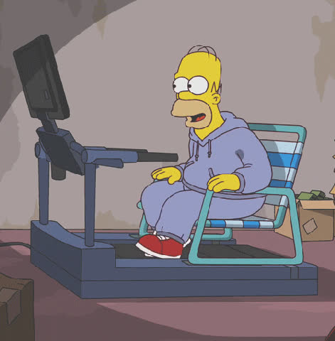 homer, simpsons, slow, Slow GIFs