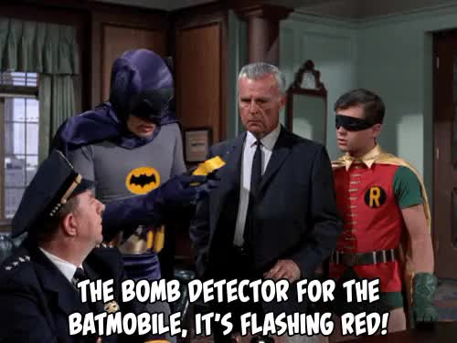 Watch and share Vintage Television GIFs and Batmobile Gif GIFs on Gfycat