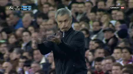 Watch this applause GIF by Reaction GIFs (@sypher0115) on Gfycat. Discover more José Mourinho, applause, clap, clapping, respect, slow clap GIFs on Gfycat