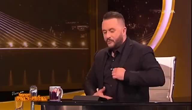 Watch and share Veče Sa Ivanom Ivanovićem - Gost: Bogdan Bogdanović  (23.06.2017.) GIFs on Gfycat