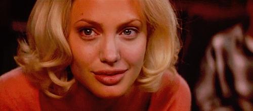 2002, angelina jolie, angelinajolie, edward burns, lanie kerrigan, life or something like it, Don't be afraid to cross the line. Don't be afraid to cross  GIFs