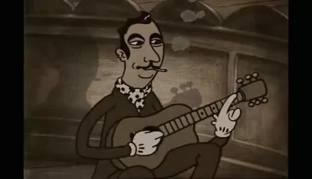 django, guitar, reinhardt, swing, django GIFs