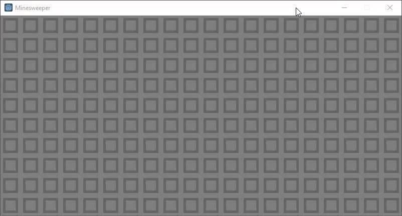 Godot 3.0 Minesweeper Prototype GIFs