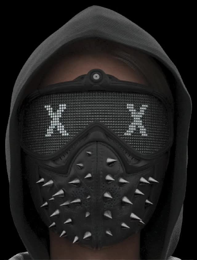 Watch and share Wrench Mask Emotes - Watch Dogs 2 GIFs by blackboxgamer on Gfycat