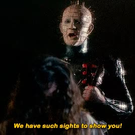 Watch and share Clive Barker GIFs on Gfycat