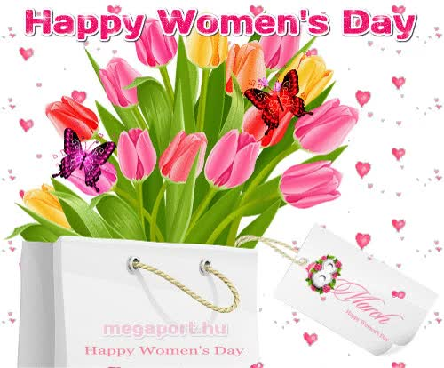 Watch and share Happy Womens Day Animation GIFs on Gfycat
