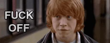 Watch and share Rupert Grint GIFs and I Give Up GIFs on Gfycat