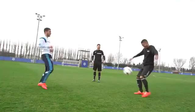 Watch and share Eden Hazard Doing Amazing Skills With F2Freestylers! GIFs on Gfycat