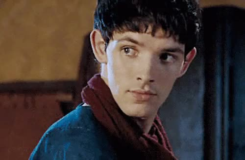 Watch and share Im Back Bitches GIFs and Colin Morgan GIFs on Gfycat