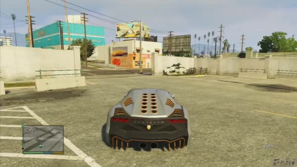 Grand Theft Auto V Customizing Pegassi Zentorno Lamborghini Sesto
