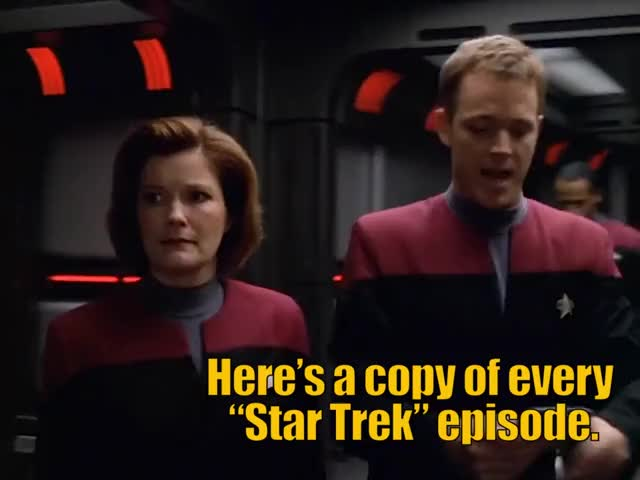 Watch and share Star Trek Voyager GIFs and Kathryn Janeway GIFs by Star Trek gifs on Gfycat