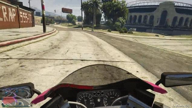 carcrash, gta5, gta 5 motorbike GIFs