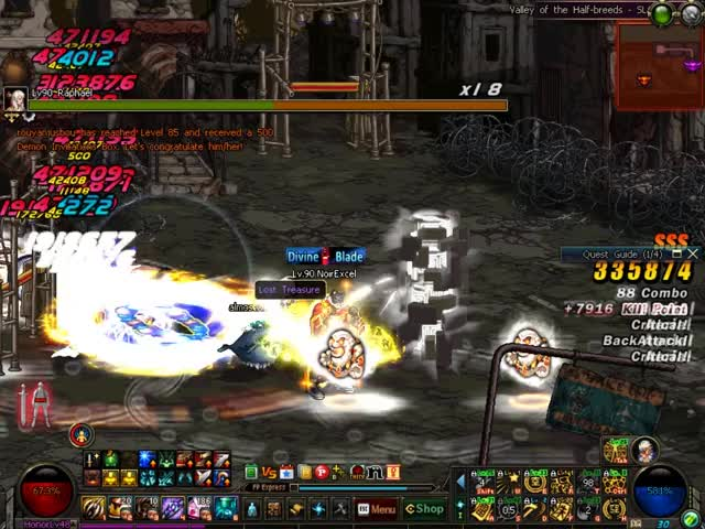 Watch and share Mmorpg GIFs and 60fps GIFs by J.Moto on Gfycat