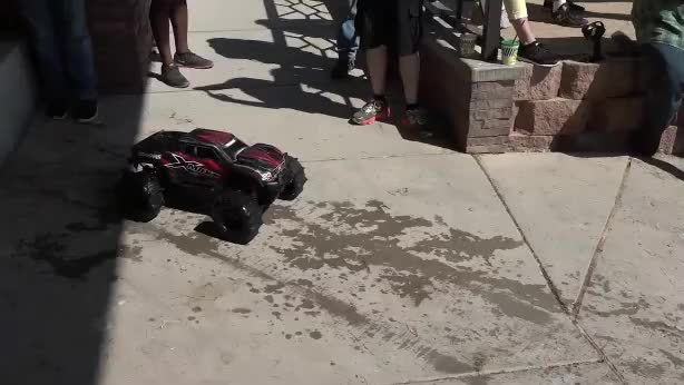 Watch and share RC Car Hydroplaning Over Water GIFs by Cold Cave Studios on Gfycat