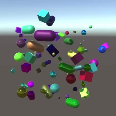 Watch and share Continuous Object Creation And Destruction GIFs by Catlike Coding on Gfycat