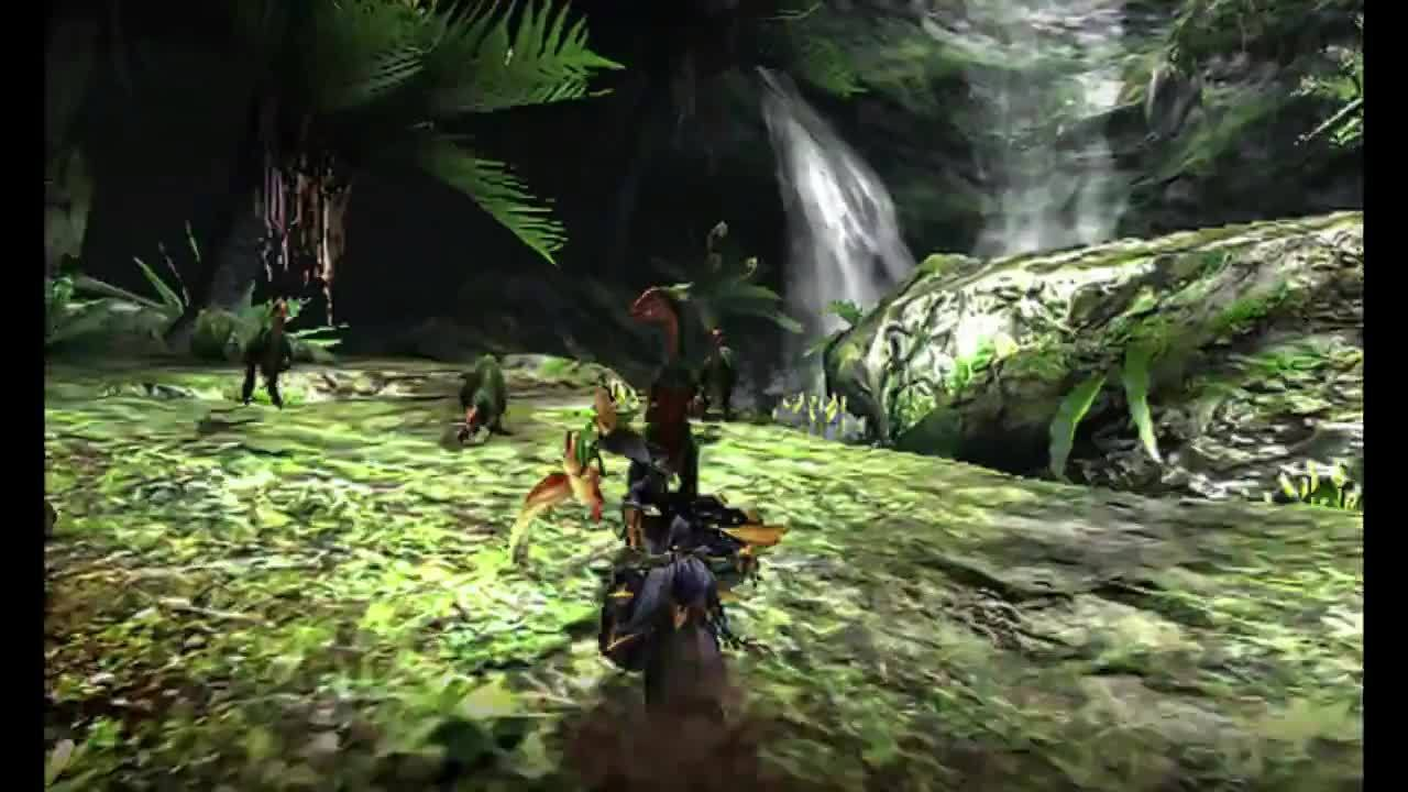 monsterhunter, Wide SnS GIFs