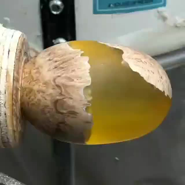 Watch A stunning piece made of Concinna Burl with Alumilite Clear Resin reposted from @heath_knuckles - . @heath_knuckles made this approximately GIF by PM_ME_STEAM_K3YS (@pmmesteamk3ys) on Gfycat. Discover more carpenters, carpenterslife, design, handmade, madera, wood, woodart, woodarts, woodworker, woodworkingshop GIFs on Gfycat