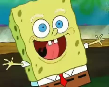 Spongebob Eyelashes Gif Find Make Share Gfycat Gifs
