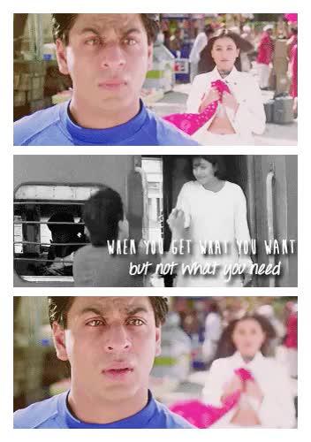 Watch and share Kuch Kuch Hota Hai GIFs and Rahul And Anjali GIFs on Gfycat