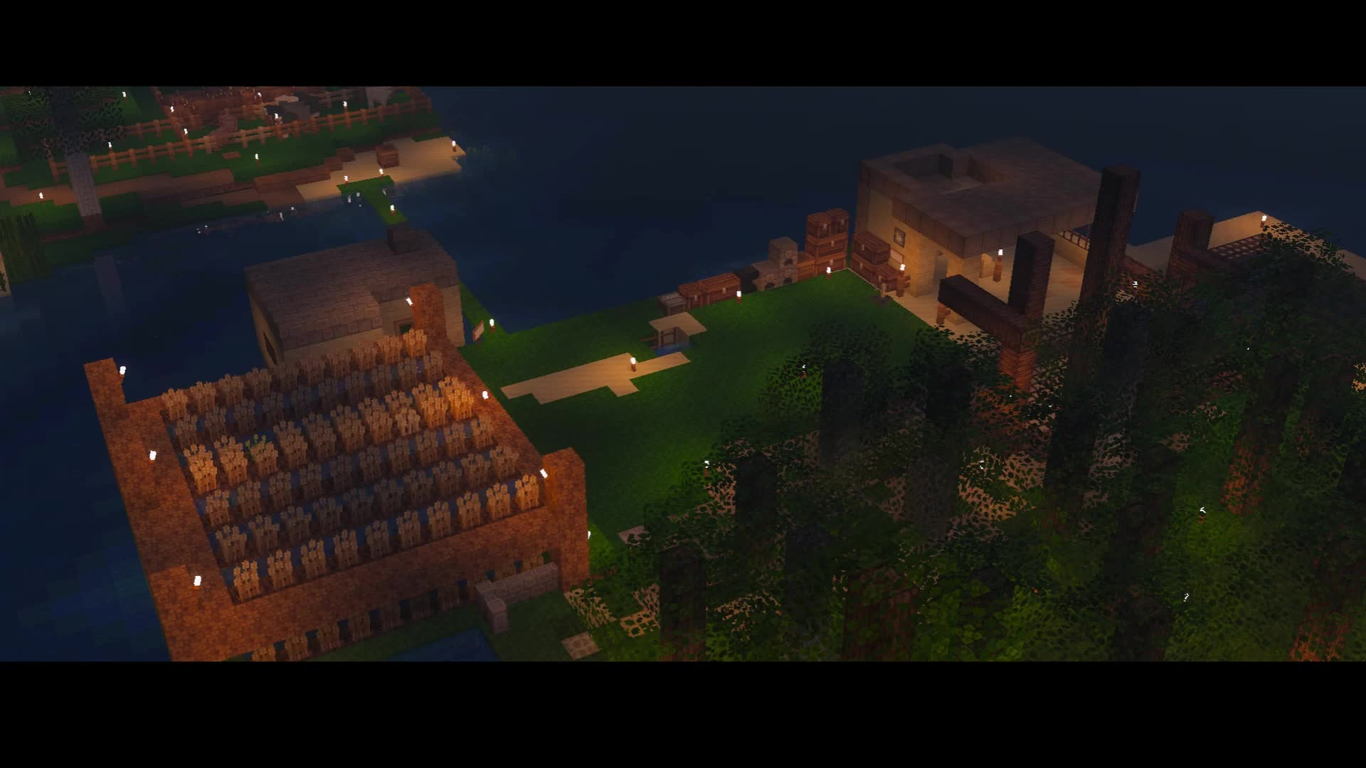 Caleb Newton, minecraft, timelapse, Farm Island Timelapse Minecraft GIFs