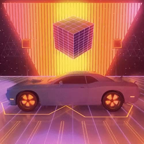 Watch and share Retrowave GIFs and Vaporwave GIFs by Void Design on Gfycat