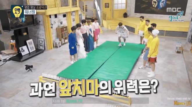 Minh chứng cho sức hút Wanna One: Mặc váy, làm trò khùng điên cũng vẫn dễ thương vô đối
