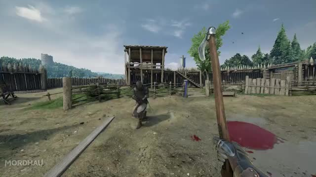 Watch and share Smooth Duck - Mordhau GIFs on Gfycat