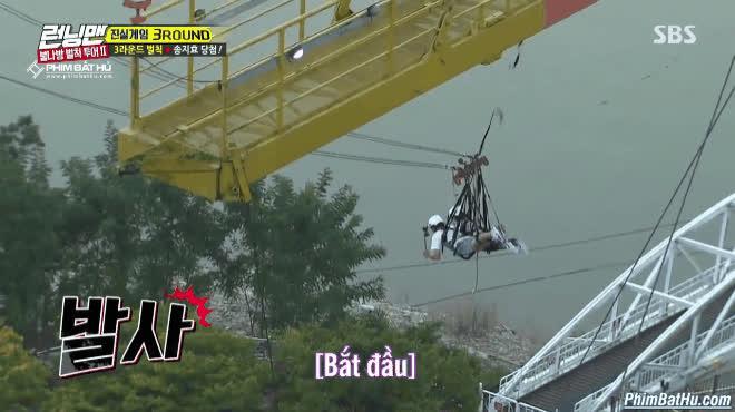 Đồng nghiệp bị bắt phạt nhào lộn trên không, hội quý ông Running Man nhắm tịt mắt không dám nhìn