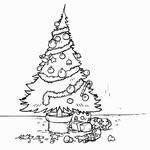 Watch and share Аватар Кот Саймона И Новогодняя Ёлка (мультфильм Кот Саймона / Simon's Cat) GIFs on Gfycat