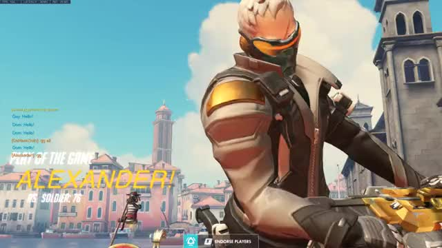 Watch Old man hacks GIF by Alexander's World (@shisou) on Gfycat. Discover more overwatch, potg, soldier, soldier76 GIFs on Gfycat