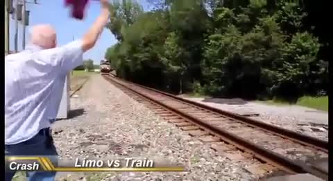 Watch and share Train Vs Limo GIFs by bsurfn2day on Gfycat