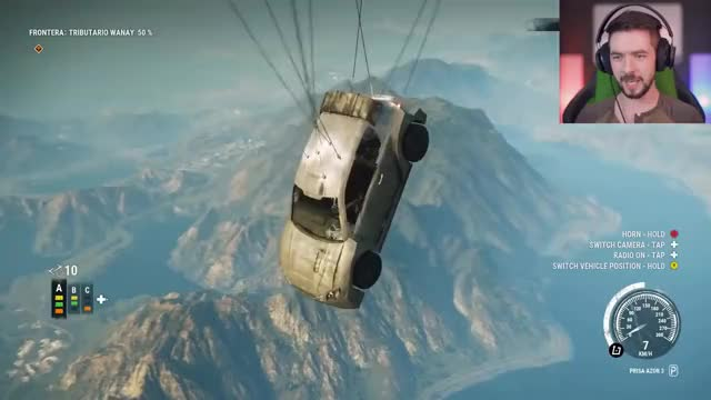 Watch this trending GIF on Gfycat. Discover more E3, NEW, PC, PS4, Physics, Upgrades, Xbox, balloons, boosters, explosions, flying, full, funny, grapple, items, jacksepticeye, sequel, walkthrough, wingsuit GIFs on Gfycat