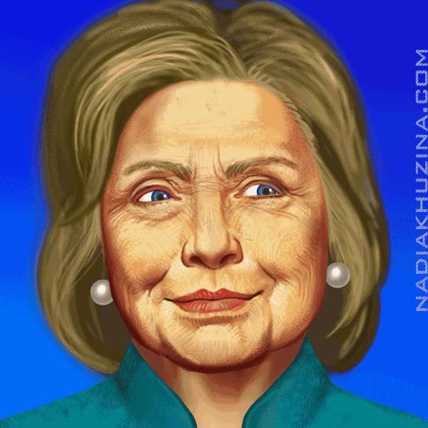 Watch and share Hillary Clinton GIFs and Pussy Riot GIFs by nadiakhuzina on Gfycat
